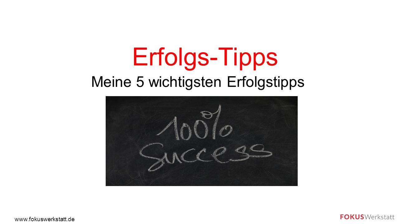"""Einführung www.fokuswerkstatt.de """"Erfolgreiche Menschen verstehen es, Ihre Energien zu fokussieren. Jeder kann erfolgreich sein."""