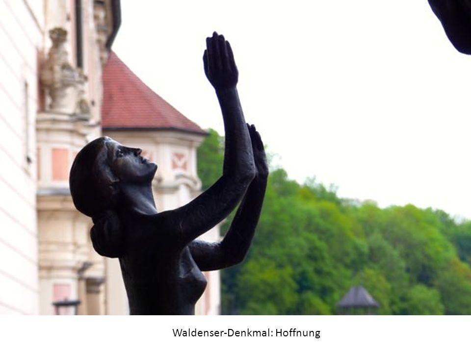 Waldenser-Denkmal: Hoffnung