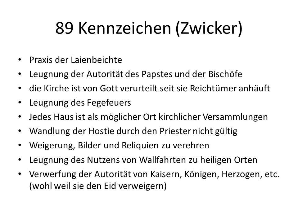 Täuferische Sendboten Jakob Portner> Mühlviertel, Freistadt Hieronymus Herrmann > Mondsee, Salzburg Leonhard Schiemer > Vöcklabruck, Gmunden Leonhard Dorfbrunner > Gmunden, Salzburg