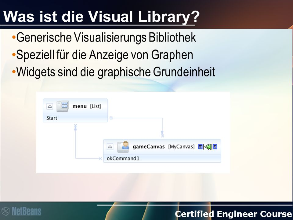 Certified Engineer Course Was ist die Visual Library.