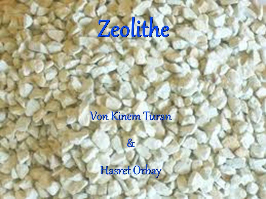 Zeolithe Von Kinem Turan & Hasret Orbay