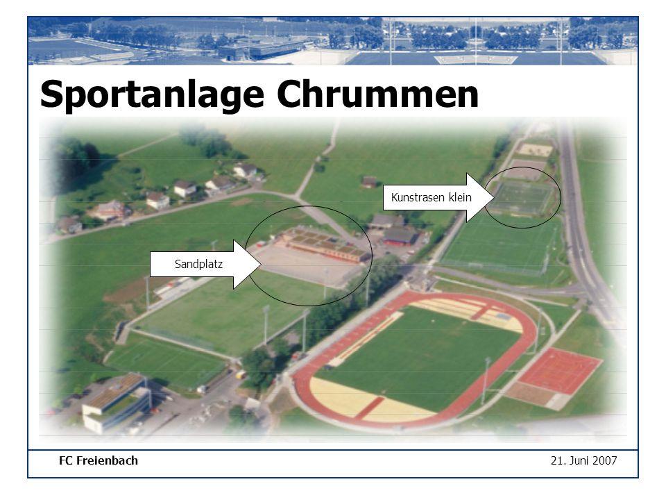 FC Freienbach21. Juni 2007 Sportanlage Chrummen Sandplatz Kunstrasen klein