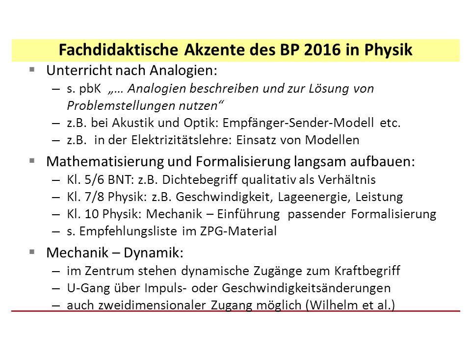 """ Unterricht nach Analogien: – s. pbK """"… Analogien beschreiben und zur Lösung von Problemstellungen nutzen"""" – z.B. bei Akustik und Optik: Empfänger-Se"""