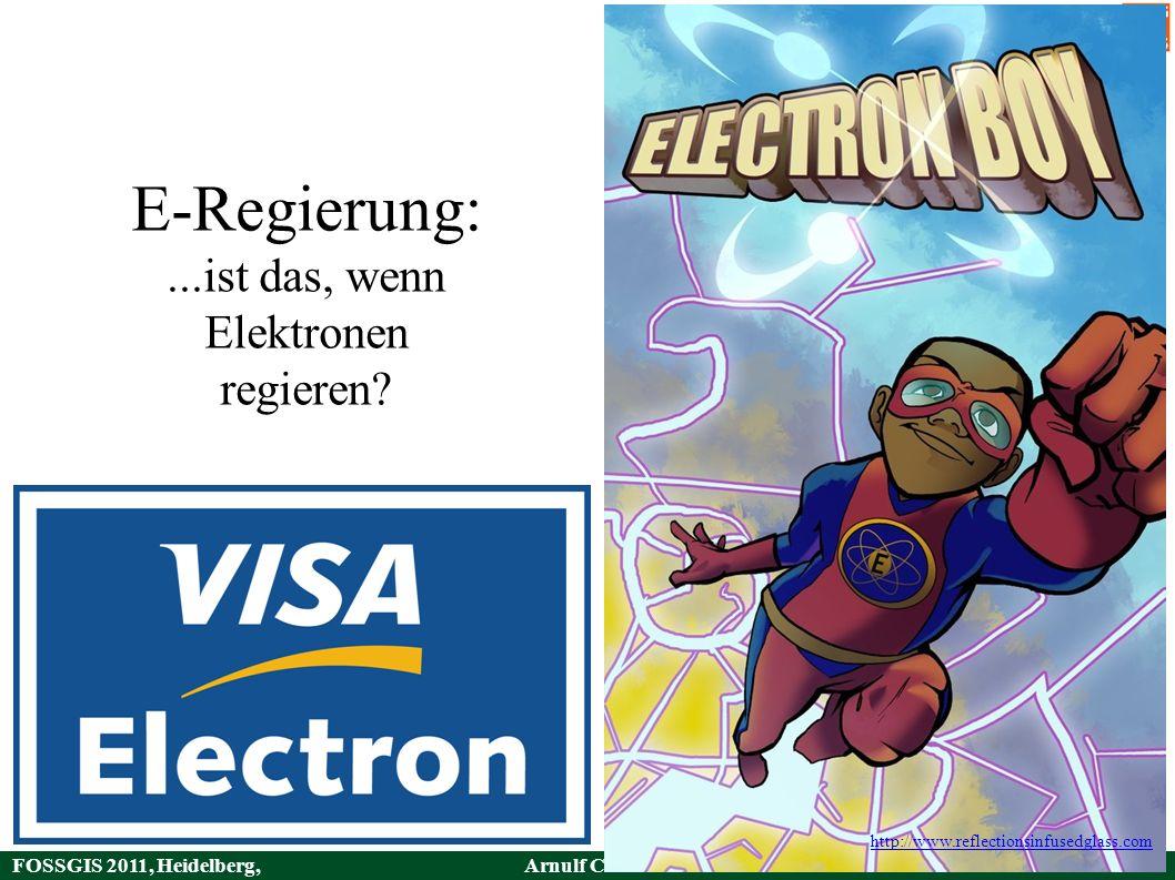 FOSSGIS 2011, Heidelberg, Germany Arnulf Christl36 / 49 HTTP URI – Verweise Der wichtigste Aspekt des Web sind Verweise.