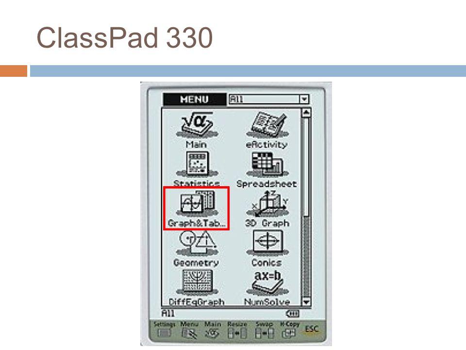 ClassPad 330