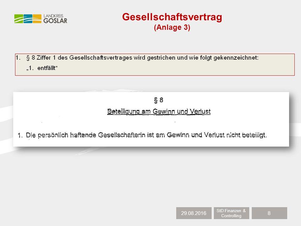 29.08.2016 StD Finanzen & Controlling 9 Gesellschaftsvertrag (Anlage 3)