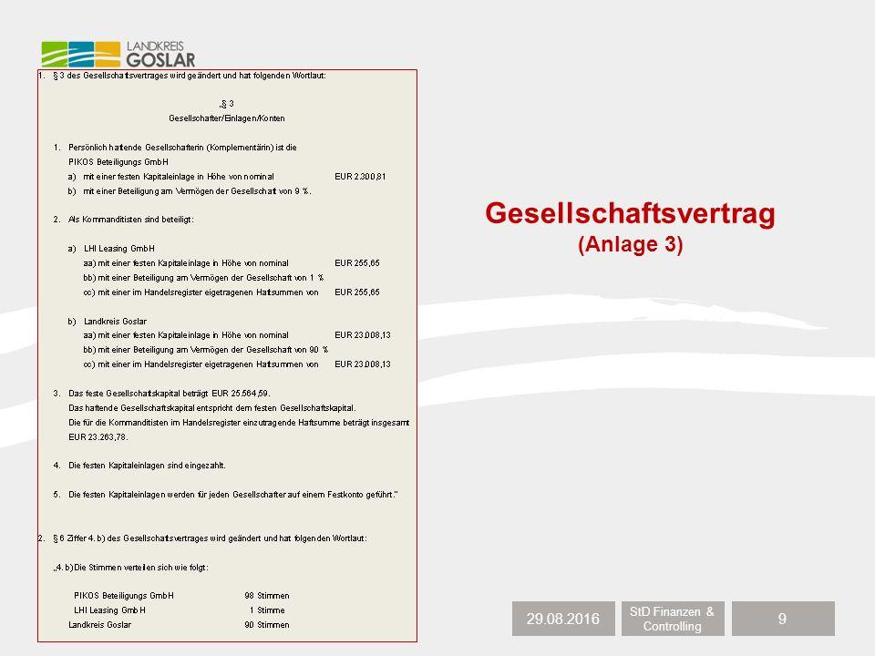 29.08.2016 StD Finanzen & Controlling 10 Gesellschaftsvertrag (Anlage 3) d