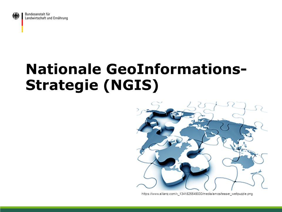 Nationale GeoInformations- Strategie (NGIS) https://www.allianz.com/v_1341825549000/media/amos/teaser_weltpuzzle.png