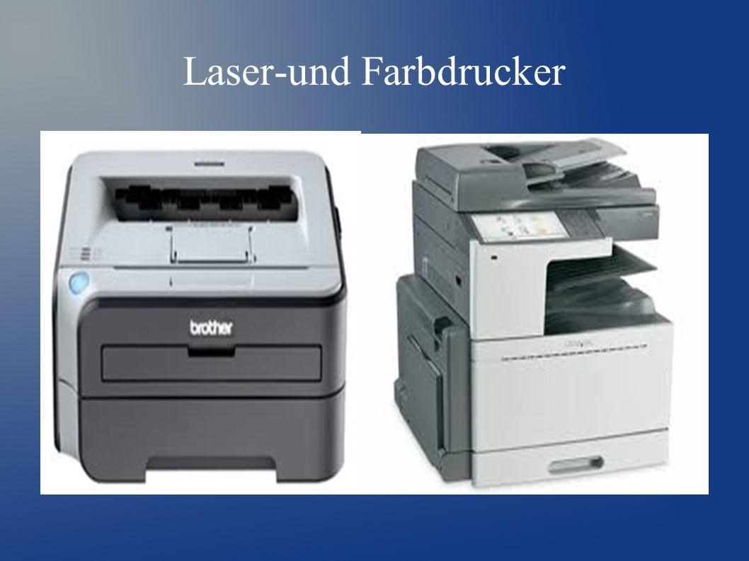 Laser-und Farbdrucker
