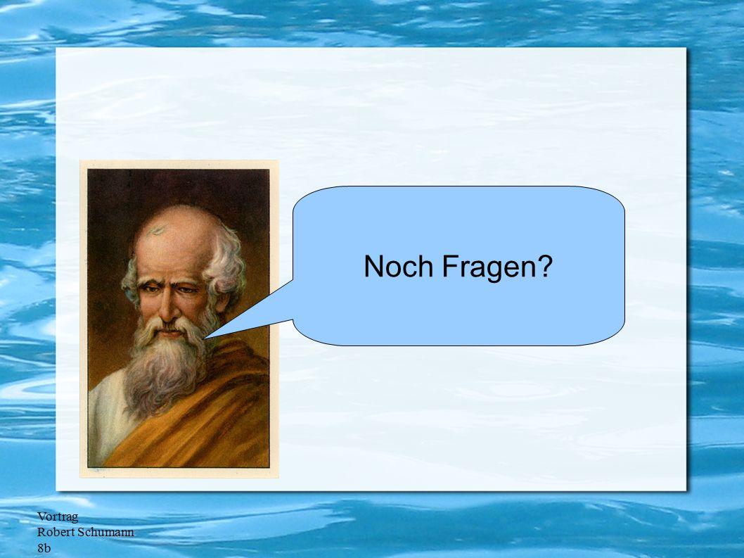 Vortrag Robert Schumann 8b Noch Fragen?