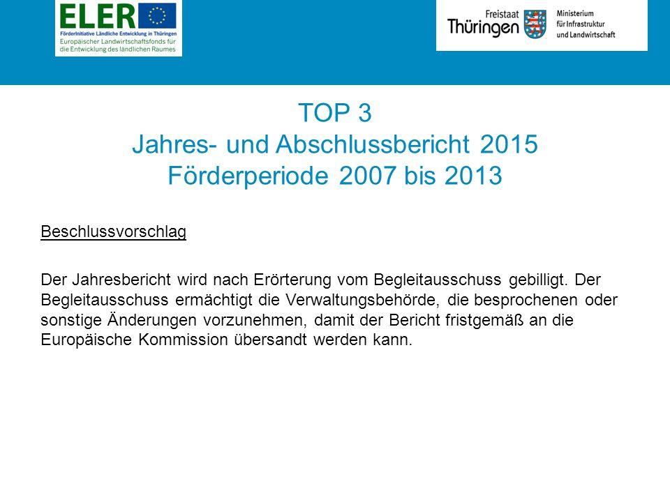 Jährlicher Durchführungsbericht 2015 zur FILET 2014-2020 | BGA 16.06.2016 Umsetzung | Schwerpunktbereich 5E Förderung der Kohlenstoff-Speicherung und -Bindung in der Land- und Forstwirtschaft 125,4 Mio.