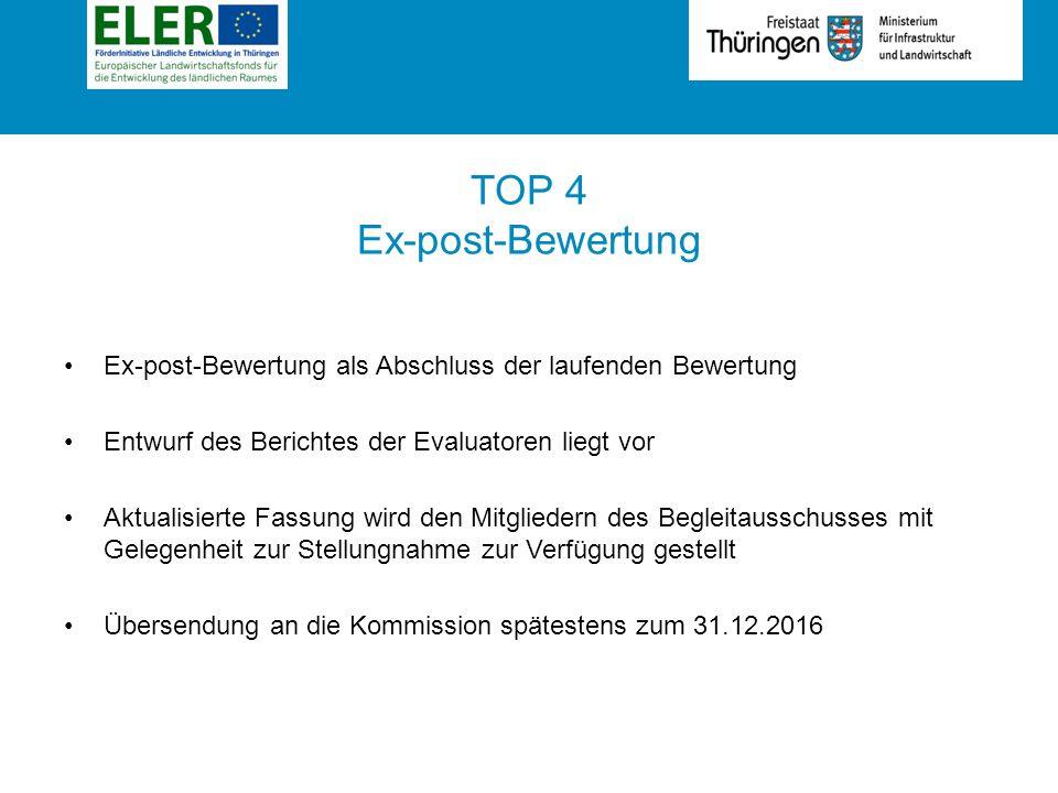 Rubrik TOP 5 Bericht über das übergreifende Jahresgespräch mit der Europäischen Kommission am 21.