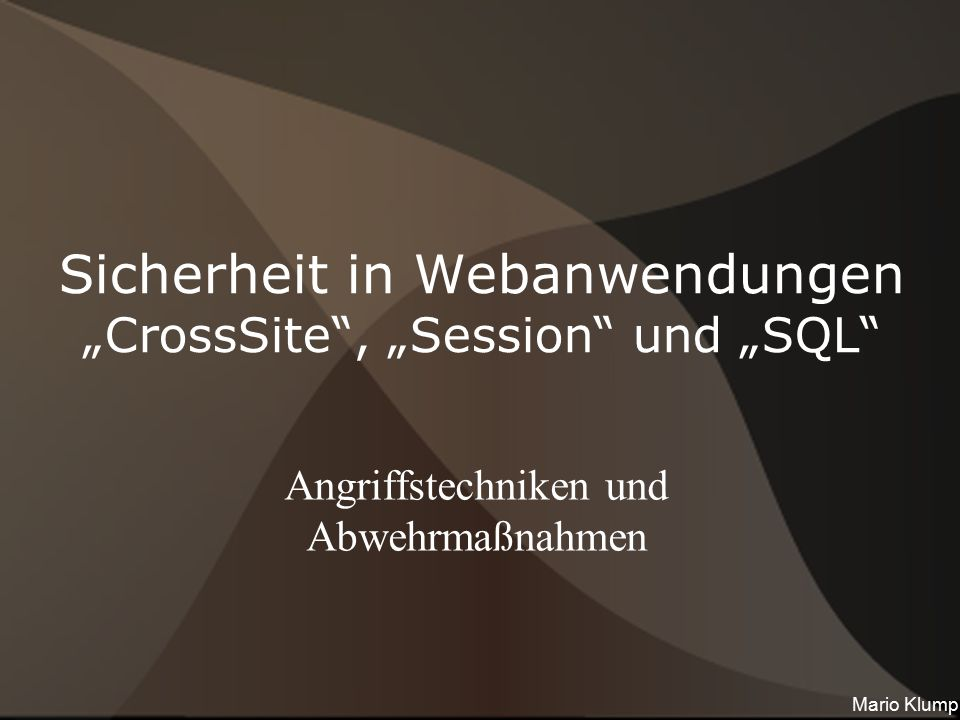"Die ""Cross-Site -Familie"