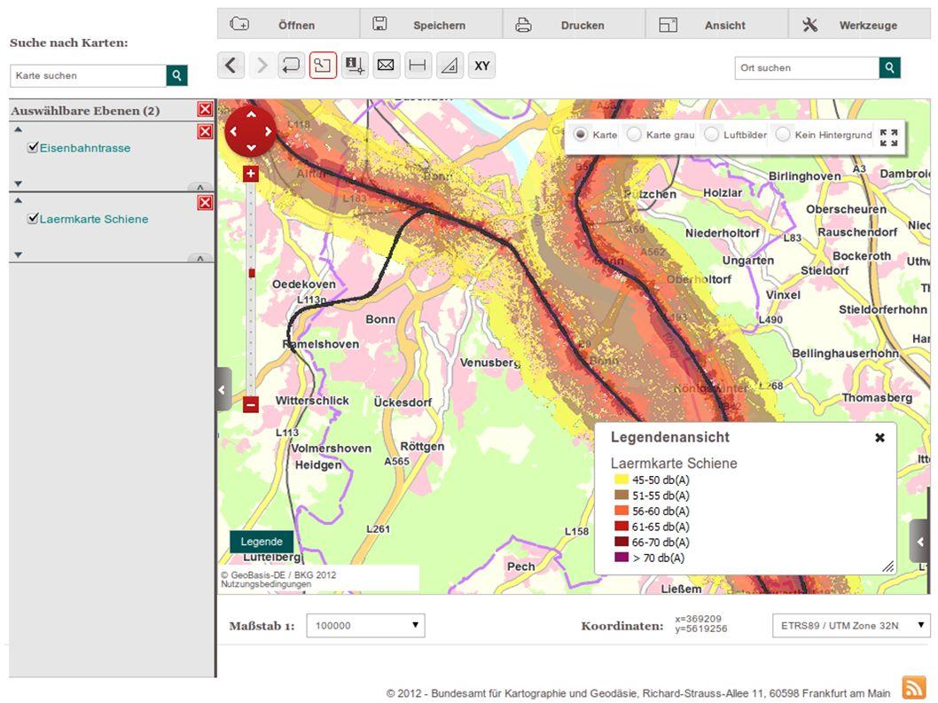 Mapbender3 – INTERGEO 2012 Hannover Uli Rothstein 16 / Stand der Dinge - MapbenderWm(t)sBundle Nutzung von WMS- und WMTS-Diensten Parsen von GetCapabilities-Dokumenten JavaScript-Funktionalität