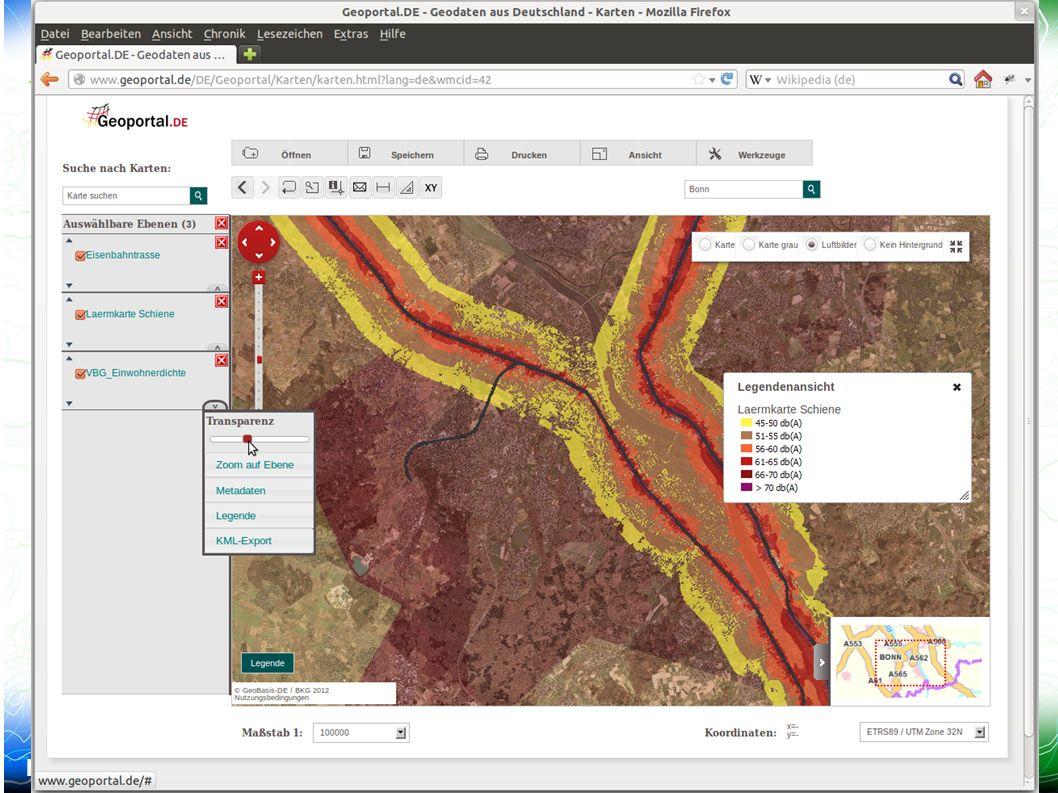 Mapbender3 – INTERGEO 2012 Hannover Uli Rothstein 6 /