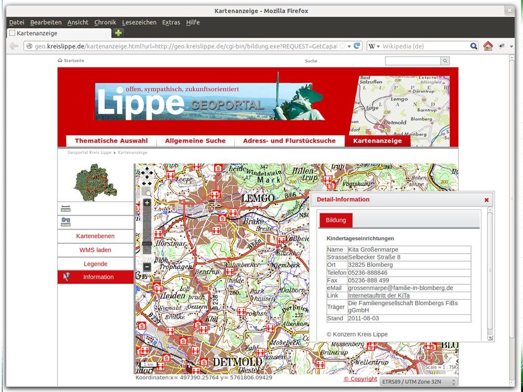 Mapbender3 – INTERGEO 2012 Hannover Uli Rothstein 9 / Weitere Bundles Die Komponenten Symfony2 Mapbender Starter Mapbender CoreBundle Mapbender WMSBundle jQuery jQuery UI MapQuery OpenLayers FOMBundles In Symfony2 sind Bundles Plugins.