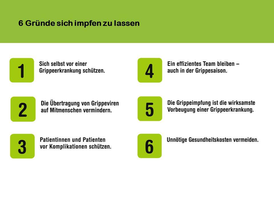 6 Gründe sich impfen zu lassen