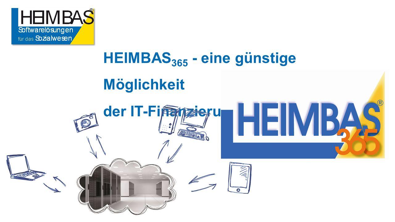 HEIMBAS 365 - eine günstige Möglichkeit der IT-Finanzierung.