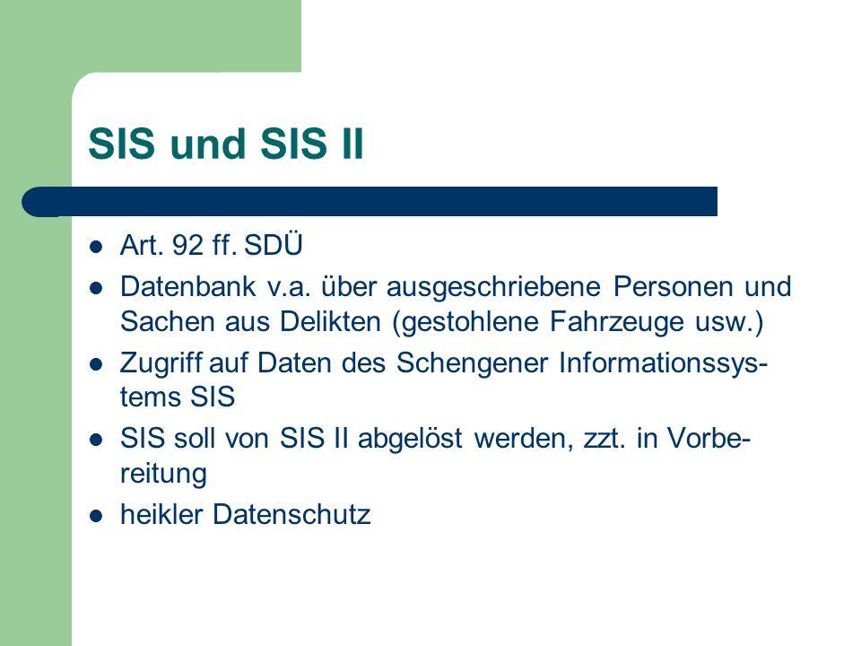 Gemeinsame Visumspolitik Art.9 ff.