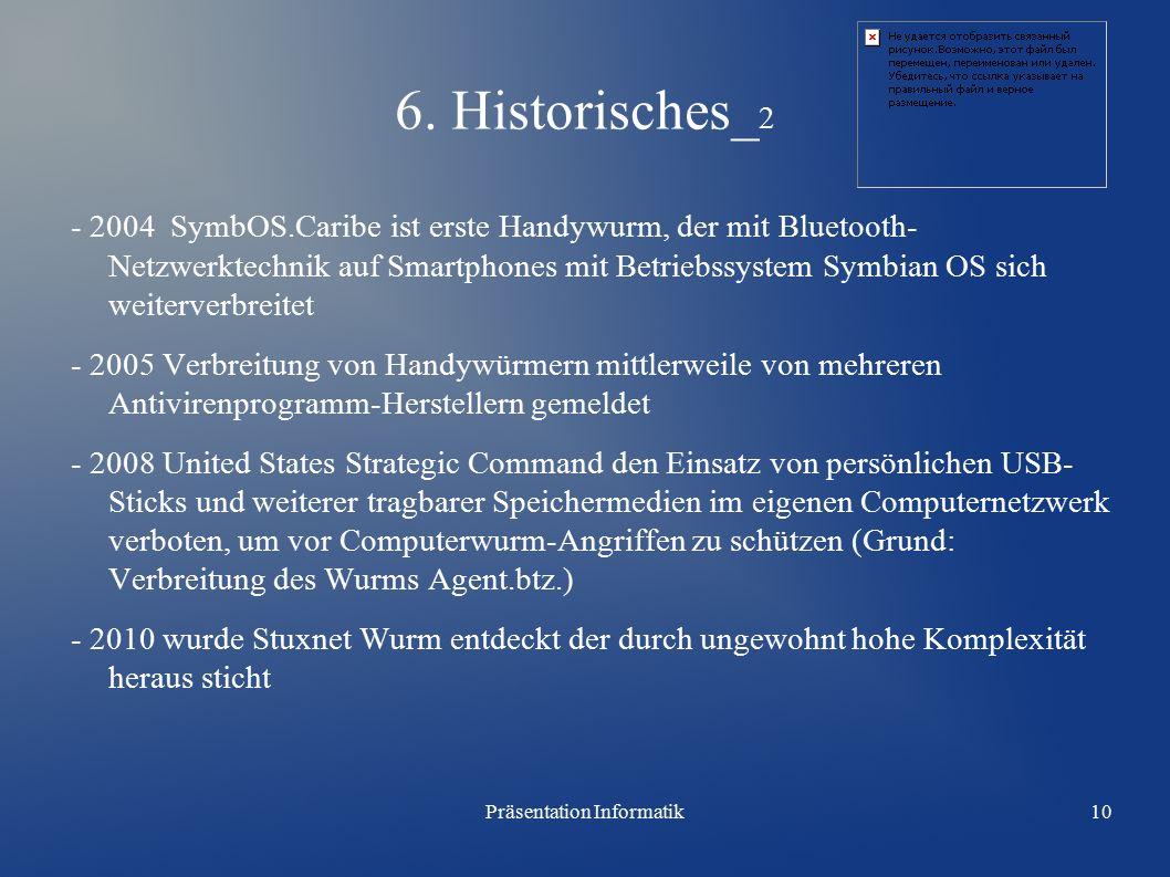 Präsentation Informatik10 6.