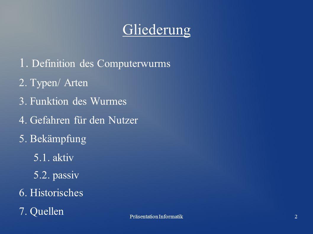 Präsentation Informatik3 1.