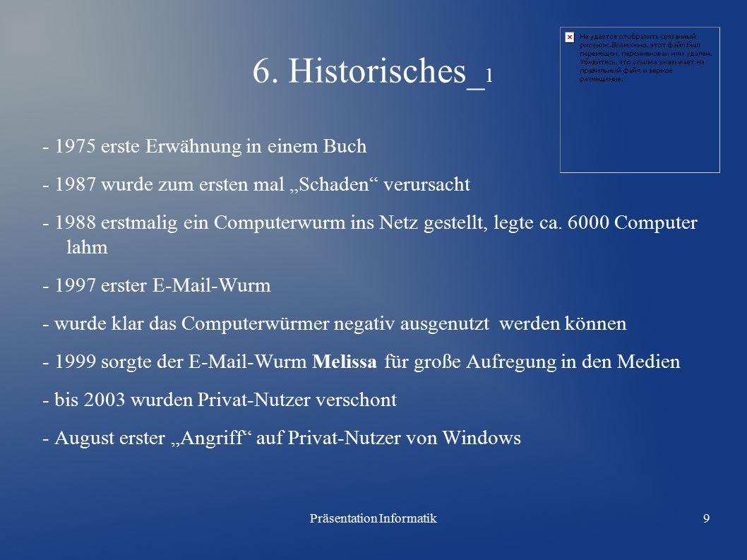 Präsentation Informatik9 6.