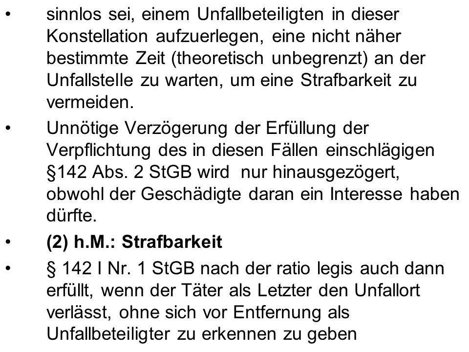 III.Strafbarkeit des M nach § 315b I Nr. 1, III StGB i.