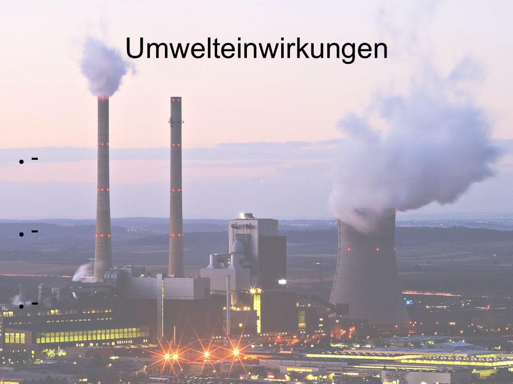 Umwelteinwirkungen ● -