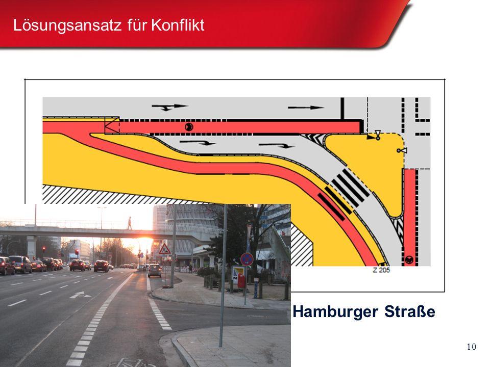 10 Lösungsansatz für Konflikt Hamburger Straße