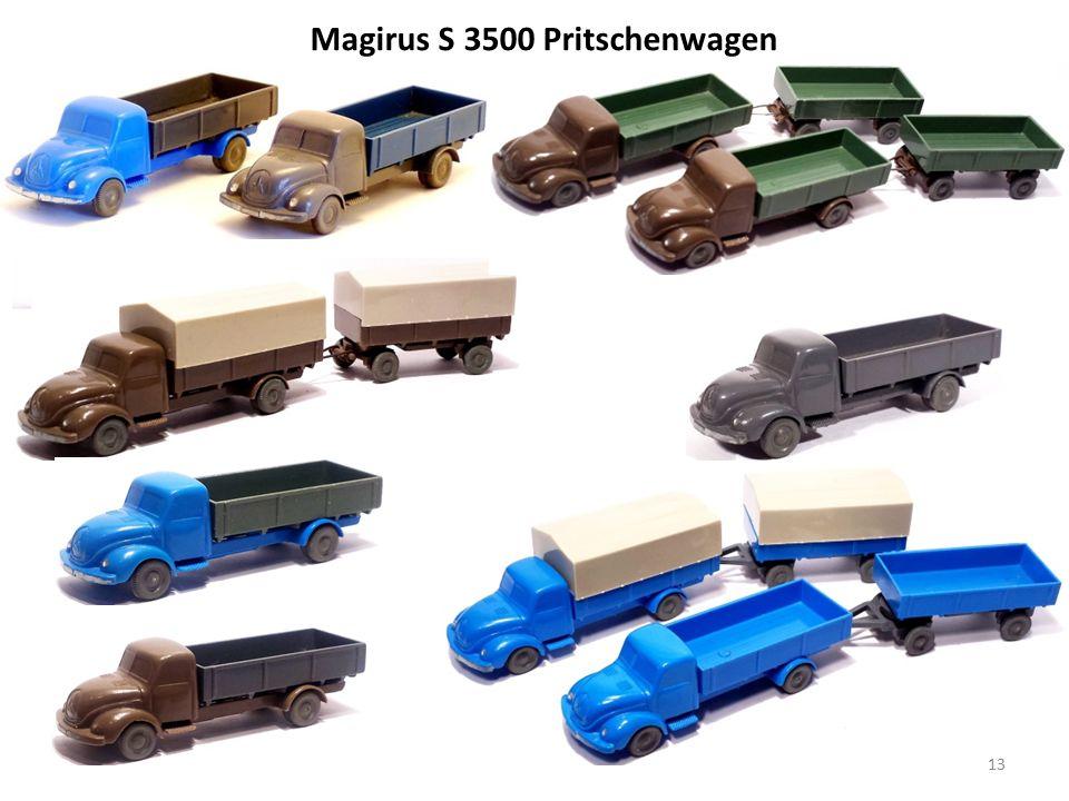 Magirus S 3500 Pritschenwagen 13