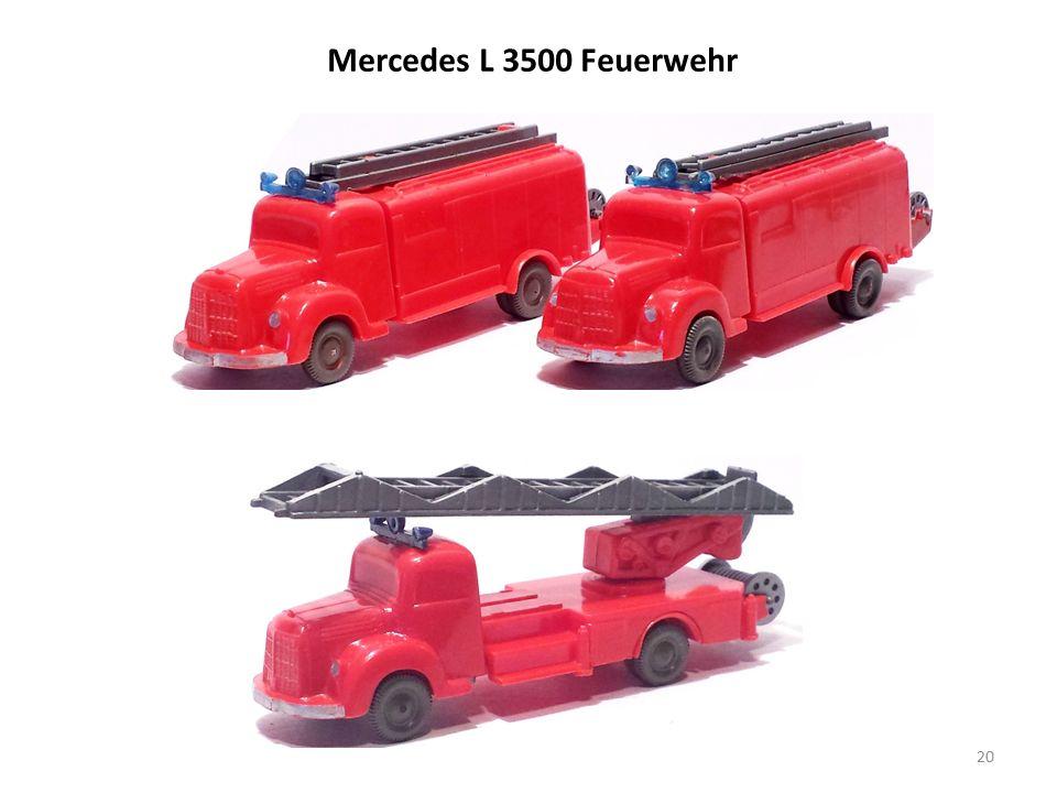 Mercedes L 3500 Feuerwehr 20