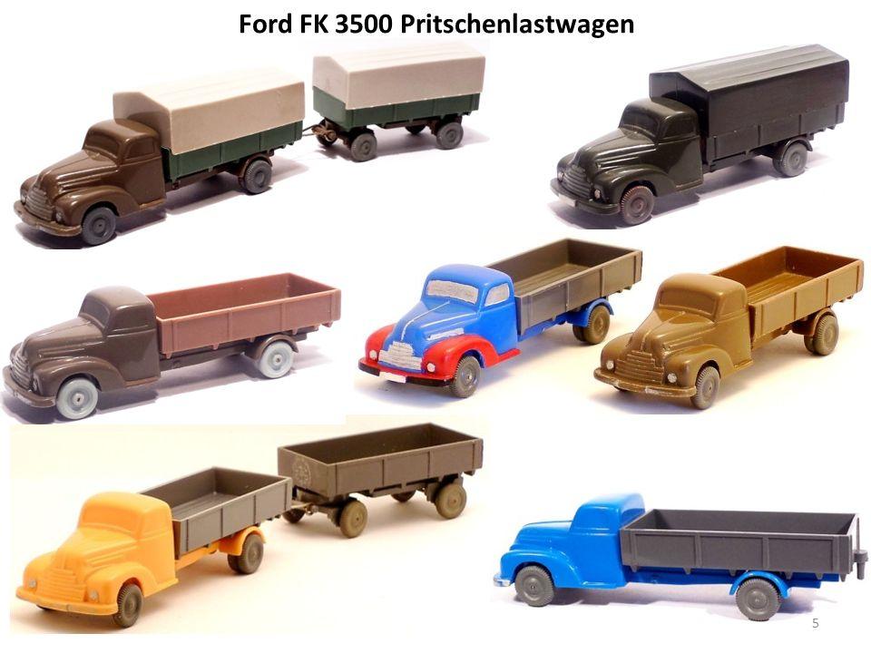 Ford FK 3500 Pritschenlastwagen 5
