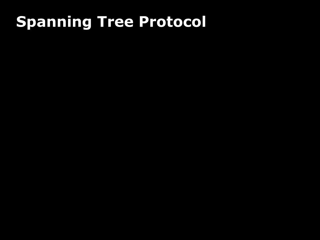 Spanning Tree Protocol Verwendung Vermeidung redundanter Netzwerkpfade im LAN Protokoll Bridges wählen Root-Bridge (min.