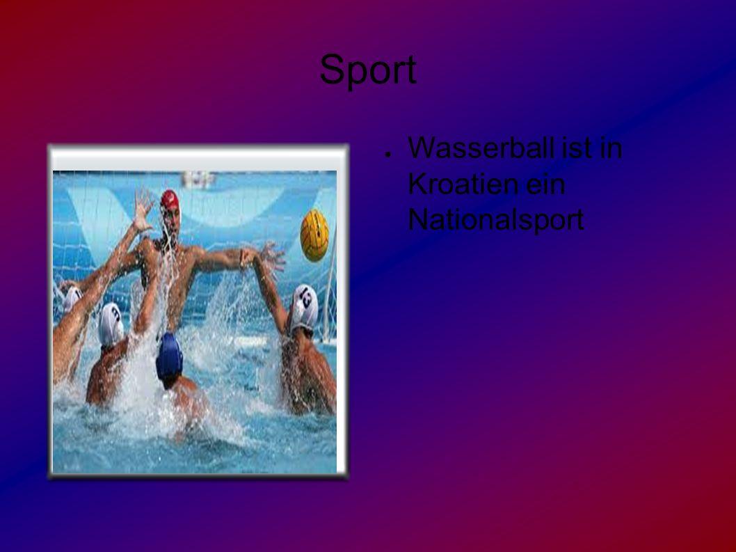 Sport ● Wasserball ist in Kroatien ein Nationalsport