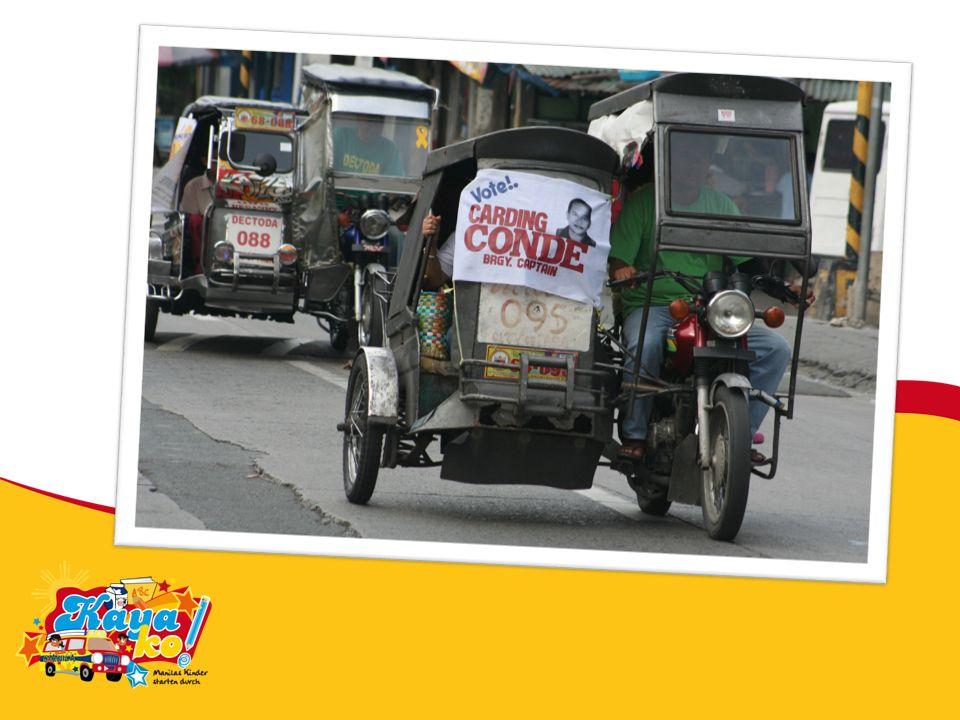 Herr, wir bitten dich für Jeanie: beschütze sie auf ihren vielen Fahrten in Manila.