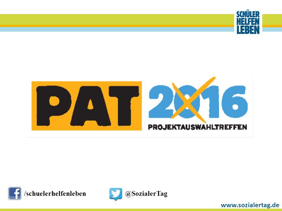 www.sozialertag.de /schuelerhelfenleben@SozialerTag