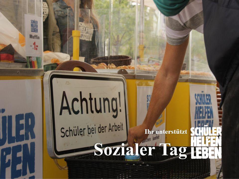 www.sozialertag.de Sozialer Tag Ihr unterstützt