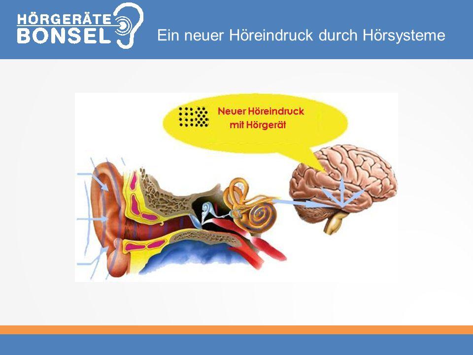 Ein neuer Höreindruck durch Hörsysteme