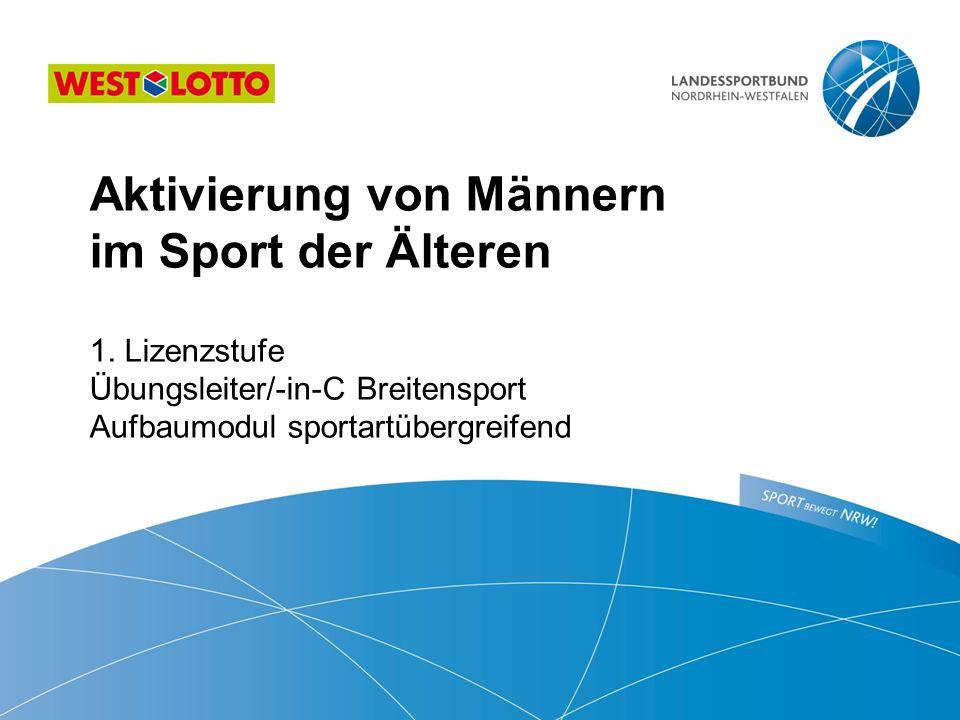 Aktivierung von Männern im Sport der Älteren  1.