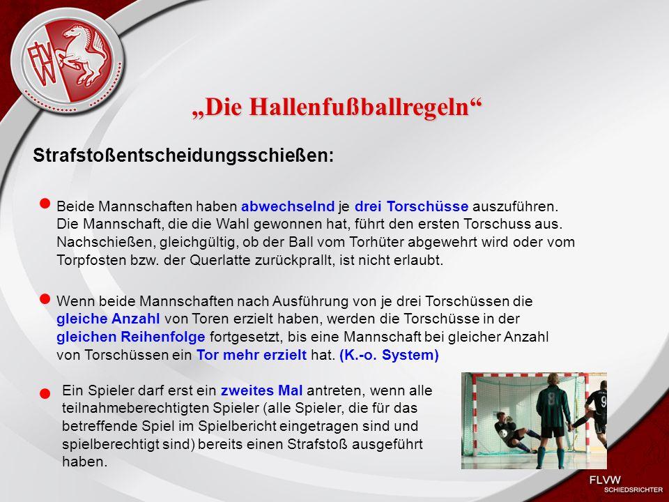 Heiko Schneider KSL Bochum FLVW Kreis Bochum www.kreis-bochum.de Strafstoßentscheidungsschießen: Beide Mannschaften haben abwechselnd je drei Torschüsse auszuführen.