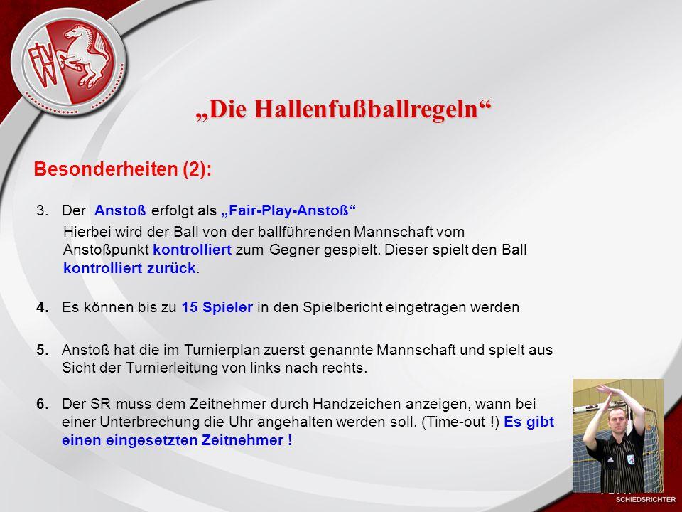 Heiko Schneider KSL Bochum FLVW Kreis Bochum www.kreis-bochum.de Besonderheiten (2): 4.Es können bis zu 15 Spieler in den Spielbericht eingetragen werden 5.Anstoß hat die im Turnierplan zuerst genannte Mannschaft und spielt aus Sicht der Turnierleitung von links nach rechts.