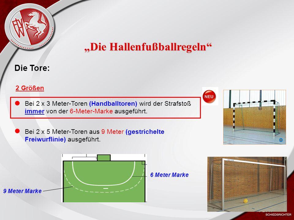 Heiko Schneider KSL Bochum FLVW Kreis Bochum www.kreis-bochum.de Der Ball: Die Spielbälle müssen sprungreduziert sein (Futsalbälle).