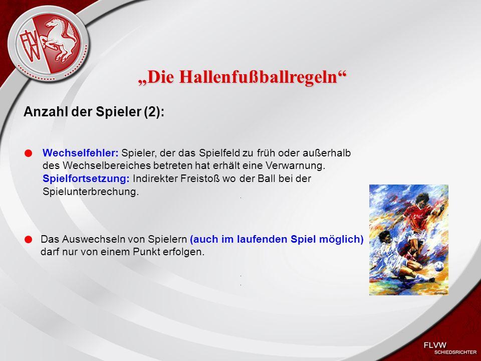 Heiko Schneider KSL Bochum FLVW Kreis Bochum www.kreis-bochum.de Der Torwart: Der TW darf über das gesamte Spielfeld ins Spiel eingreifen.