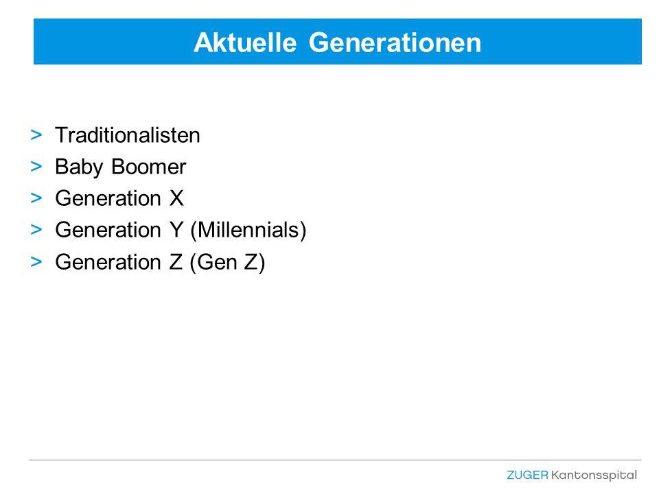 Aktuelle Generationen >Traditionalisten >Baby Boomer >Generation X >Generation Y (Millennials) >Generation Z (Gen Z)