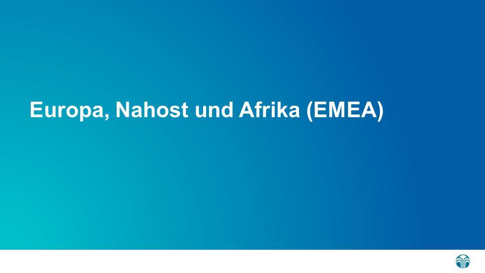 Übersicht Richtlinienverstöße 2015 in EMEA