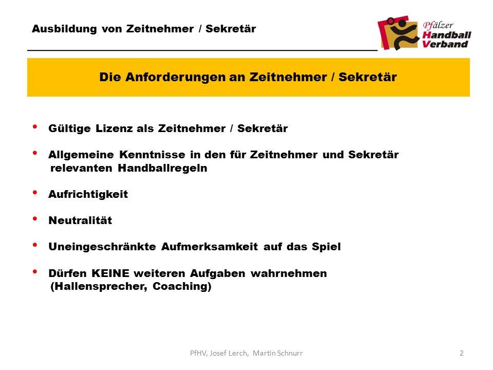 Die Anforderungen an Zeitnehmer / Sekretär Ausbildung von Zeitnehmer / Sekretär Gültige Lizenz als Zeitnehmer / Sekretär Allgemeine Kenntnisse in den