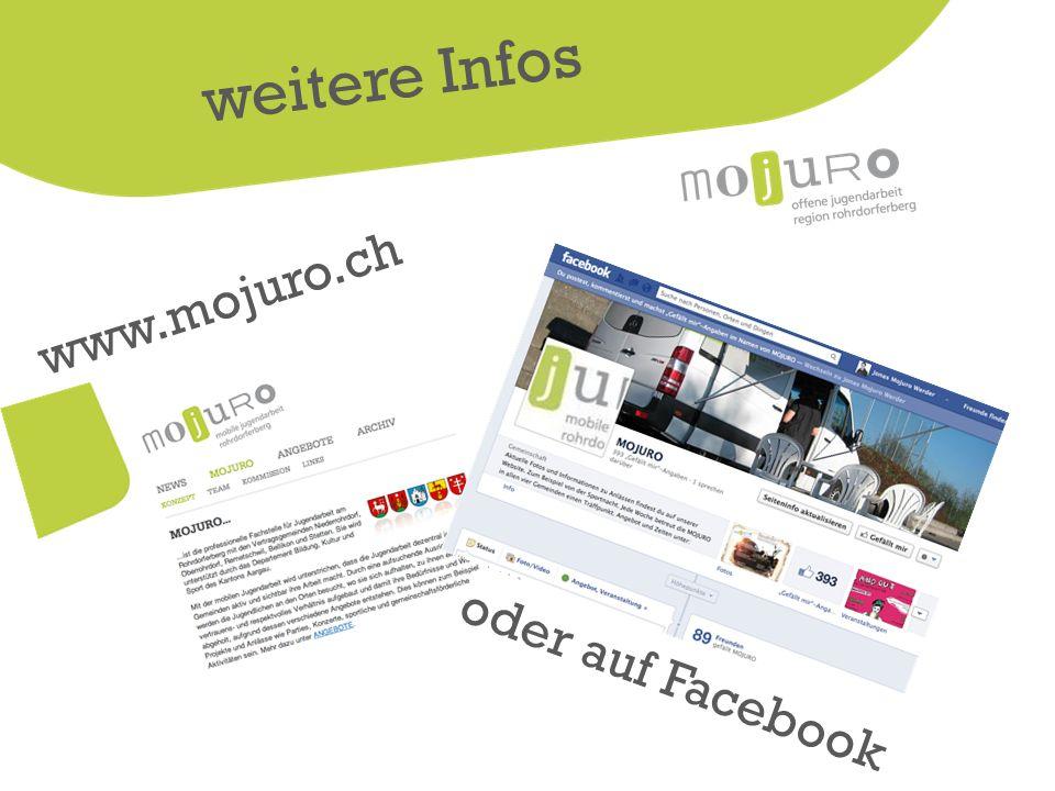 www.mojuro.ch weitere Infos oder auf Facebook