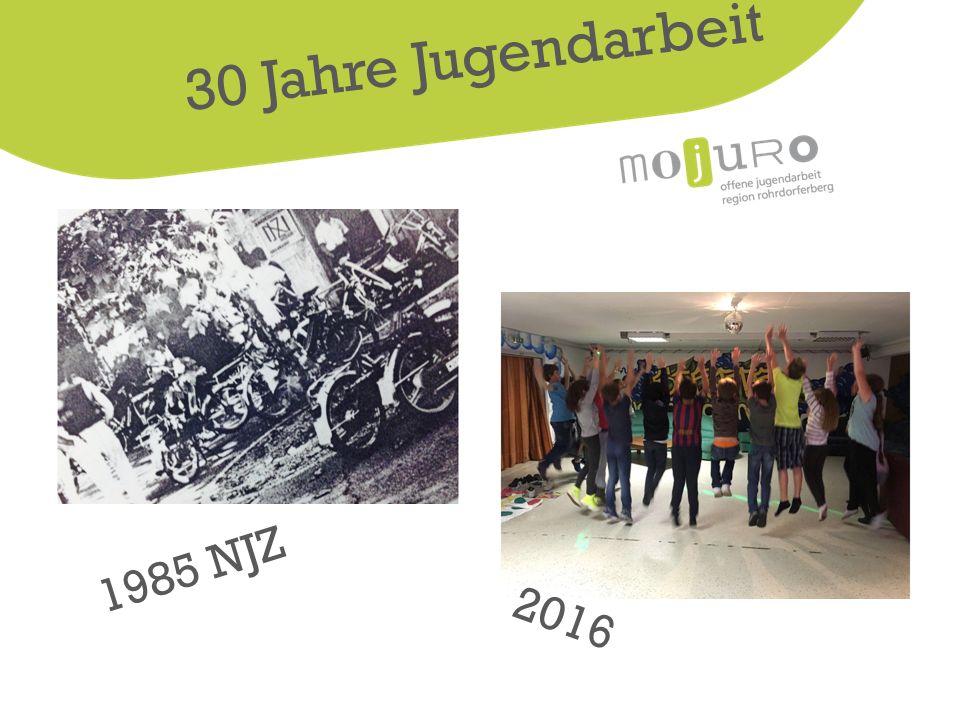 2016 1985 NJZ 30 Jahre Jugendarbeit