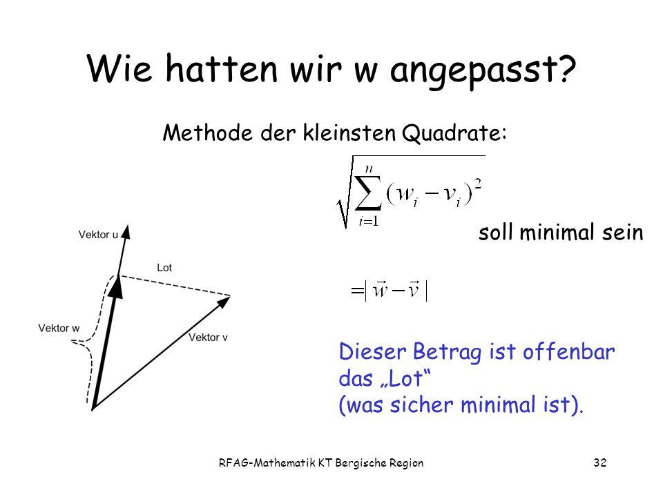 RFAG-Mathematik KT Bergische Region32 Wie hatten wir w angepasst.