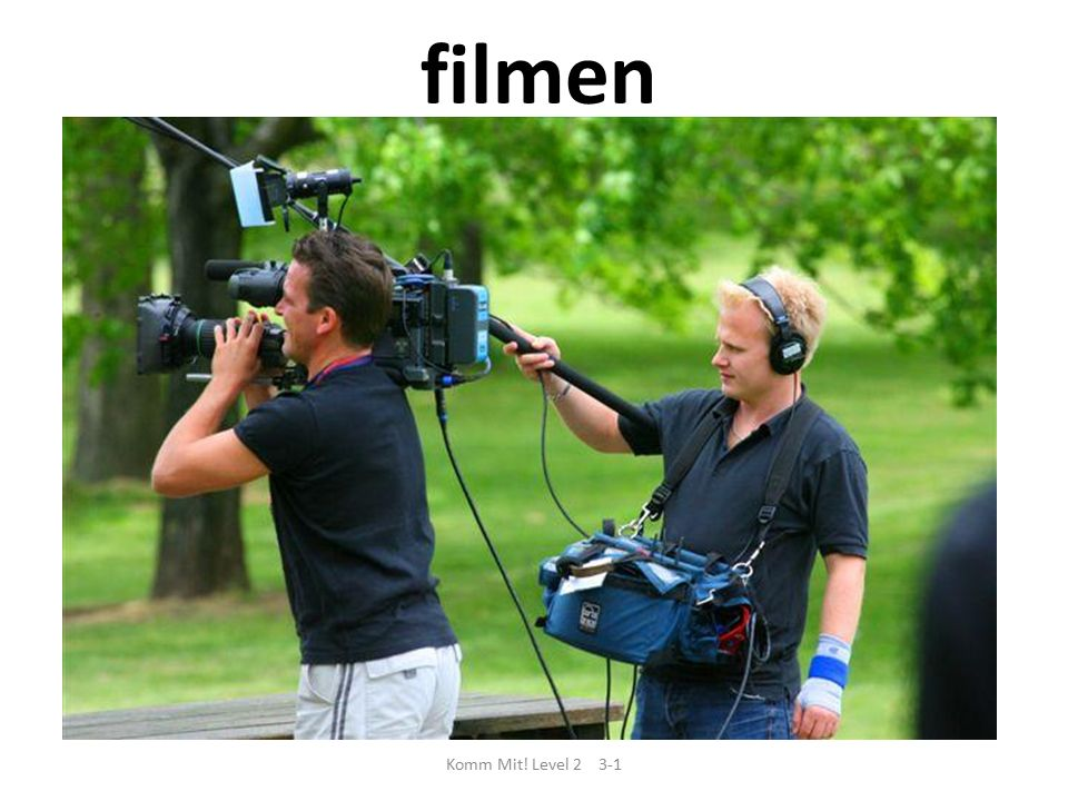 filmen Komm Mit! Level 2 3-1